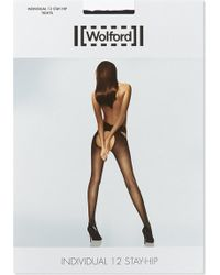 Wolford - Individual 12 Stay-hip Tights - Lyst