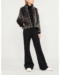 The White Company - Faux-fur Jacket - Lyst