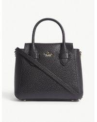 Kate Spade - Ladies Black Carter Street Kylie Leather Shoulder Bag - Lyst