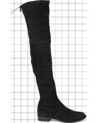 Stuart Weitzman - Lowland Suede Thigh Boots - Lyst