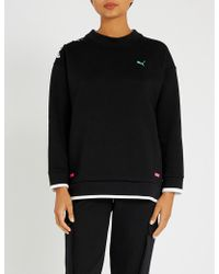 PUMA - Chase Cotton-blend Sweatshirt - Lyst