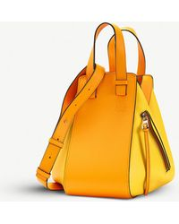 Loewe - Hammock Small Leather Shoulder Bag - Lyst