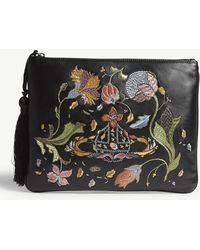 Vivienne Westwood - Dolly Leather Clutch - Lyst