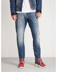 Moncler - 7 Fragment Hiroshi Fujiwara Regular-fit Straight Jeans - Lyst