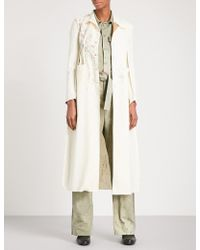 Cherevichkiotvichki - Inside Out Unlined Single-breasted Stretch-wool Coat - Lyst