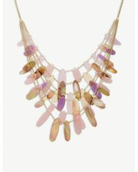 Kendra Scott - Patricia Mixed-tab Shell And 14ct Gold-plated Necklace - Lyst