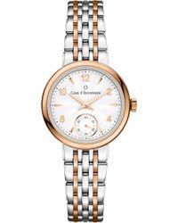 Carl F. Bucherer - 00.10317.07.26.21 Adamavi Stainless Steel Rose-gold Sapphire Crystal Watch - Lyst