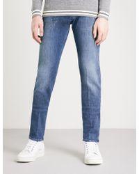 Emporio Armani - J00 Slim-fit Skinny Jeans - Lyst