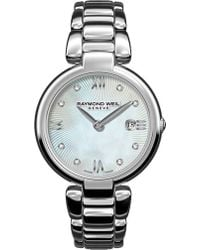 Raymond Weil | 1600st00995 Mother-of-pearl Stainless Steel Quartz Watch | Lyst