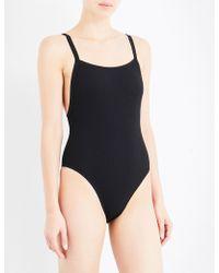 Seafolly - Inka Rib Swimsuit - Lyst