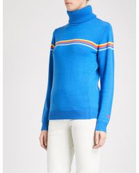 Perfect Moment - Orelle Turtleneck Wool Jumper - Lyst