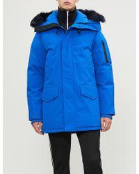 KENZO - Hooded Padded Shell Jacket - Lyst