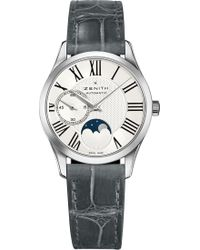 Zenith - 03.2320.692/80.c714 Ultra Thin Lady Moonphase Stainless Steel Watch - Lyst