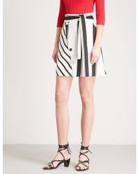 Maje | Jonson Woven Skirt | Lyst