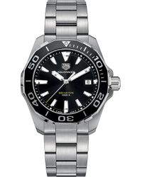 Tag Heuer - Way111aba0928 Aquaracer Stainless Steel Watch - Lyst