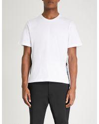 OAMC - Salgon Side-print Cotton-jersey T-shirt - Lyst