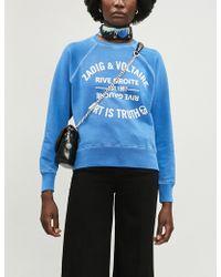 Zadig & Voltaire - Upper Blason Sweatshirt - Lyst