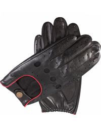 Dents - Leather Touchscreen Driving Gloves - Lyst
