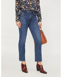 Citizens of Humanity - Kamila Flared Cropped High-rise Jeans - Lyst