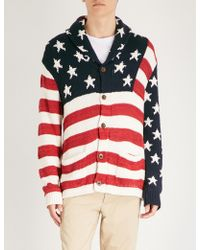 Polo Ralph Lauren - Flag-embroidered Cotton - Lyst