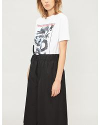 KENZO - Dragon Kick Cotton-jersey T-shirt - Lyst