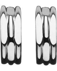 Links of London - 20/20 Sterling Silver Hoop Earrings - Lyst