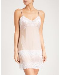 Fantasie - Marianna Lace And Satin Chemise - Lyst