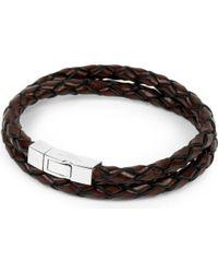 Tateossian - Scoubidou Leather Bracelet - Lyst