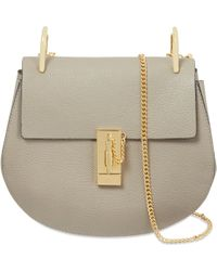 Chloé - Drew Small Textured-leather Shoulder Bag - Lyst