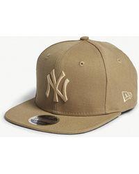 KTZ - New York Yankees Cotton Canvas Snapback Cap - Lyst
