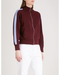 Chocoolate - Side-stripe Knitted Jacket - Lyst