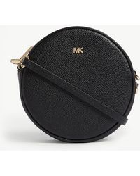 0efe52a25790 MICHAEL Michael Kors - Michael Kors Ladies Black Canteen Leather Cross-body  Bag - Lyst