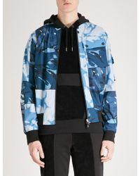 Christopher Raeburn - Camouflage-print Shell Bomber Jacket - Lyst
