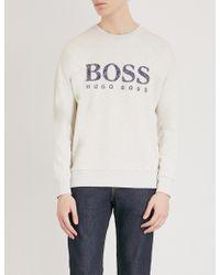 BOSS Orange - Jersey Sweatshirt - Lyst