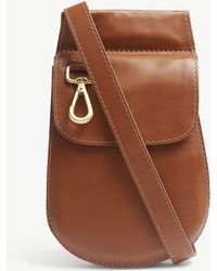 Zimmermann - Saddle Calf Leather Belt Bag - Lyst
