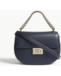 8882fc16a5 Kate Spade - Ladies Blazer Blue Striped Greenwood Lane Rita Leather  Cross-body Bag -
