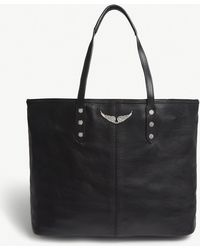 Zadig & Voltaire - Mick Leather Tote Bag - Lyst