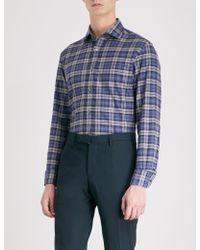 Ralph Lauren Purple Label - Aston Cotton Shirt - Lyst