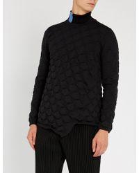 Comme des Garçons - Pleated Shell T-shirt - Lyst
