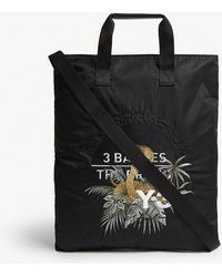 Y-3 - Embroidered Cobra Branded Tote - Lyst