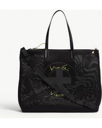 Vionnet - Large Logo Flat Tote Bag - Lyst