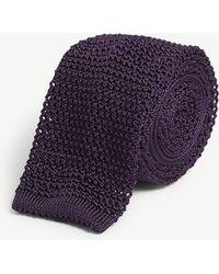 Polo Ralph Lauren - Knitted Silk Tie - Lyst