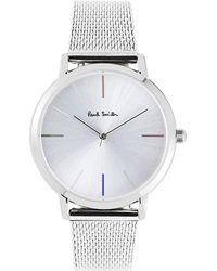 Paul Smith - P10102 Ma Stainless Steel Watch - Lyst