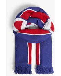 Champion - Logo Stripe Knitted Scarf - Lyst