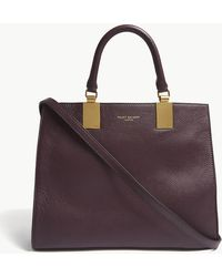 Kurt Geiger - Purple Emma Leather Tote Bag - Lyst