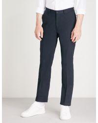Ralph Lauren Purple Label - Knightsbridge Slim-fit Straight Stretch-cotton Chinos - Lyst