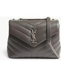 Saint Laurent - Loulou Small Leather Shoulder Bag - Lyst