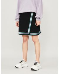 Sandro - Elodie A-line Stretch-knit Skirt - Lyst