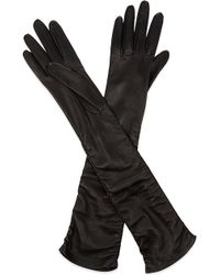 Alexander McQueen - Lamb Leather Gloves - Lyst