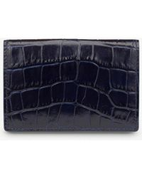 Smythson - Mara Leather Card Case - Lyst